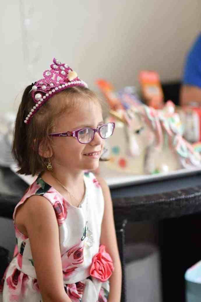 Girl with optic pathway glioma goes viral.