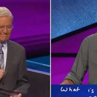 Alex Trebek nearly brought to tears because of 'Jeopardy!' contestant's final answer