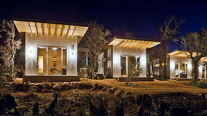 Sustainable homes.