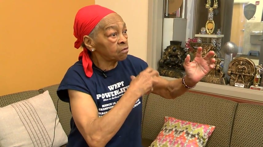 This 82-year-old powerlifting grandma taught an intruder a lesson he would never forget.
