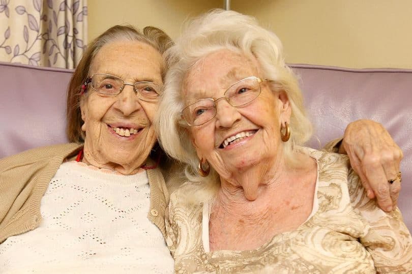Best friends stay in the same care home.