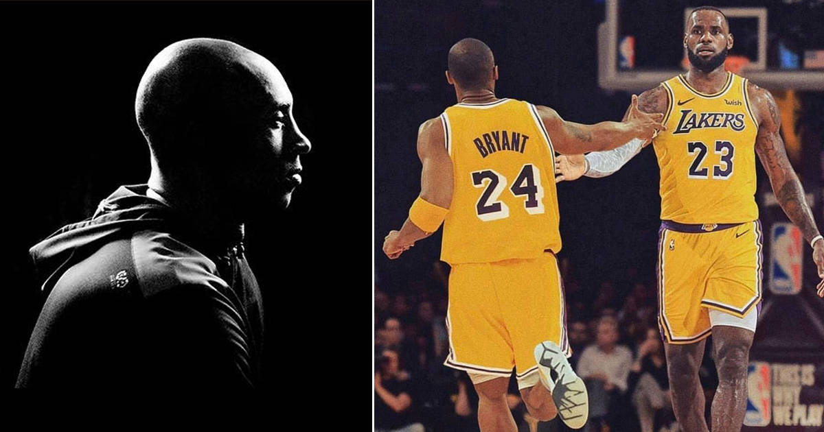 LeBron James shared a heartfelt Instagram post as a tribute to Kobe Bryant - my positive outlooks