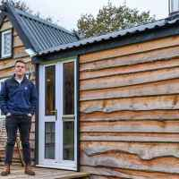 Teen built his dream tiny house from scratch using recycled materials, take a look inside