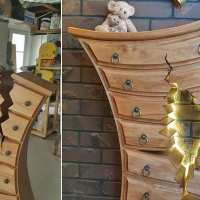 Retired cabinetmaker creates 'magical' dressers that look like something straight out of a fairy tale