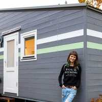Professional gamer builds functional tiny house with amazing computer set-up