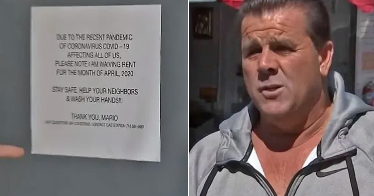 Landlord waives April rental payments for 200 tenants, wants 'everybody to be healthy' - my positive outlooks