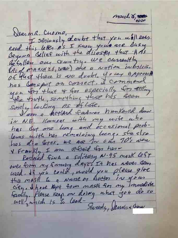 Letter from a farmer who was later on given a bachelor's degree by Kansas University.