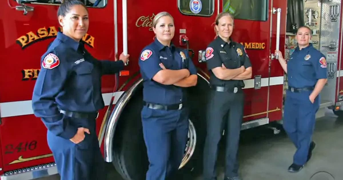 Fire department makes history after staffing an all-female firefighting crew - my positive outlooks