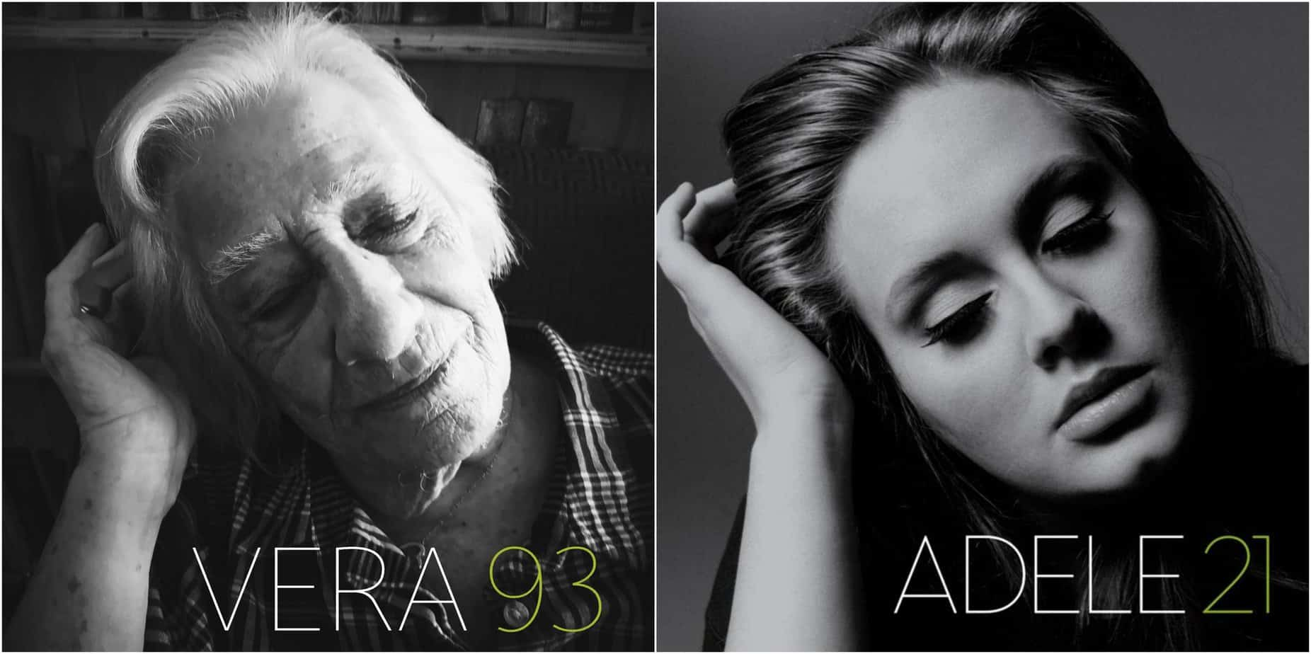 Nursing home residents brilliantly re-create iconic album covers on Twitter