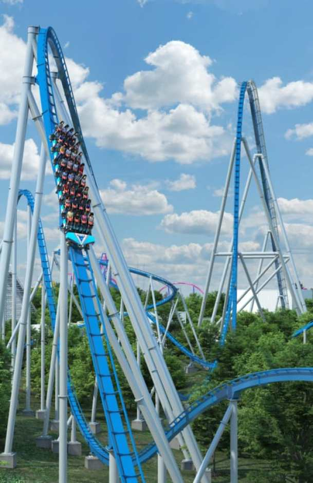 Orion roller coaster