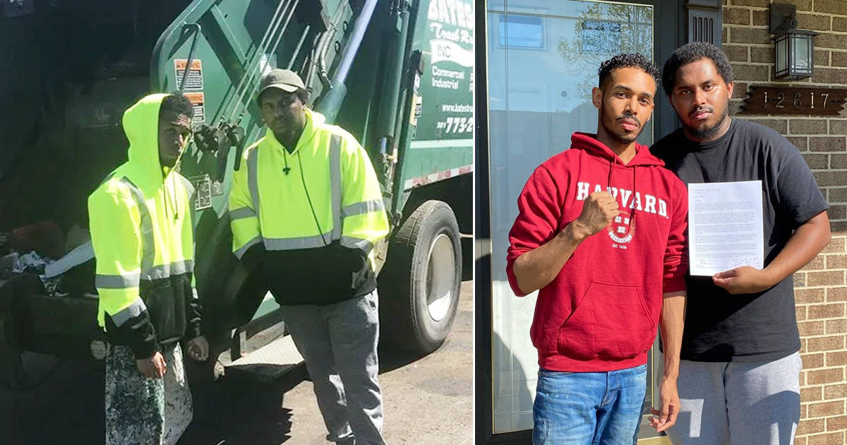 Student who collected garbage to pay for college is headed to Harvard to earn his law degree - my positive outlooks