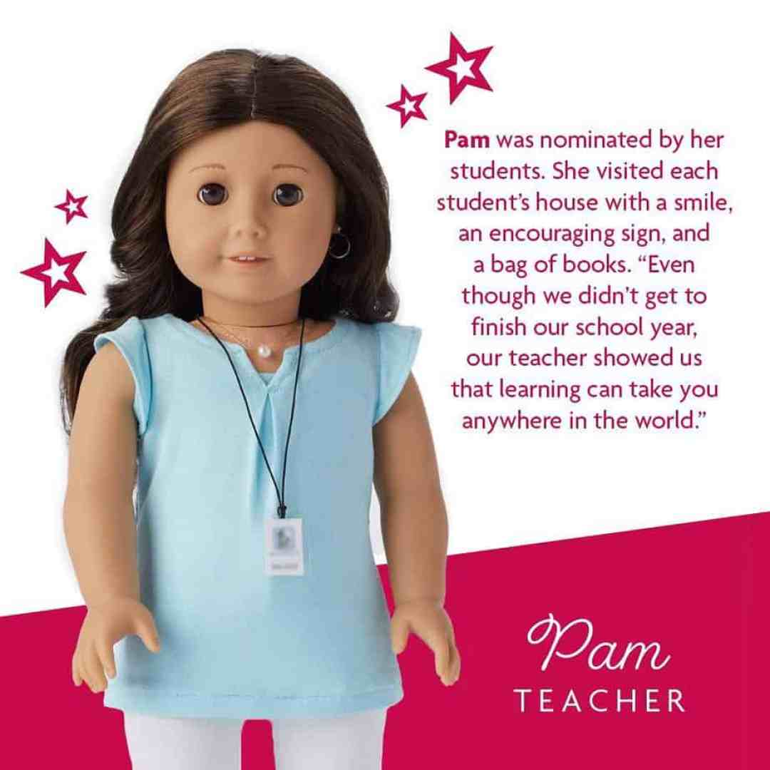 Pam : American Girl dolls pandemic heroes