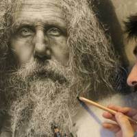 Artist's incredible portraits that are so realistic they look more like photographs than drawings
