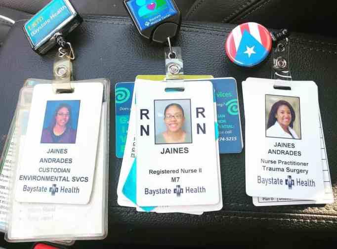 Jaines Andrades badges