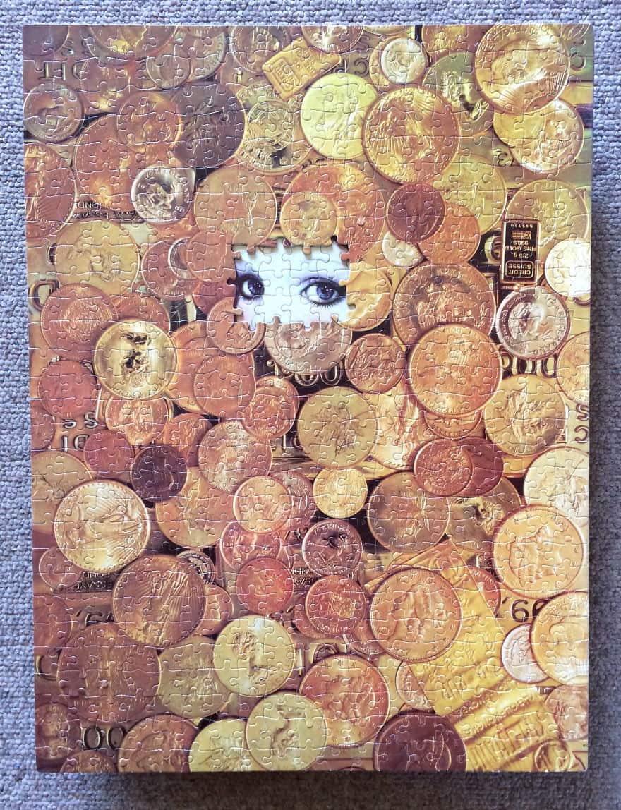 Puzzle Montage Art by Tim Klein