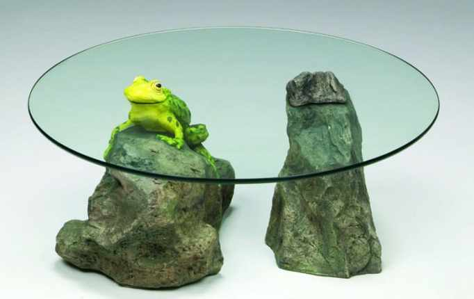 The Frog and Rock Table by David Pearce