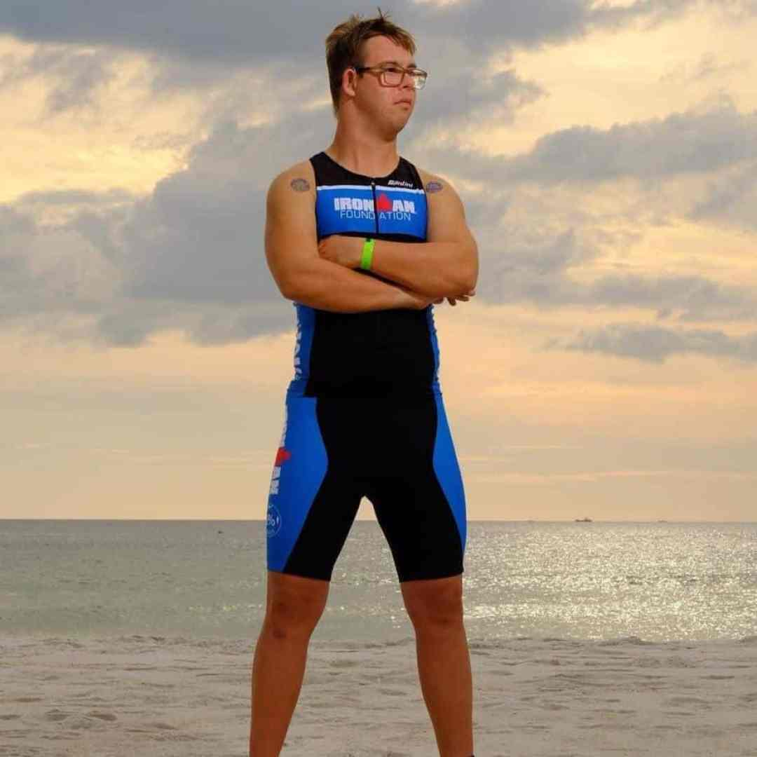 Chris Nikic completed the Ironman triathlon finisher.