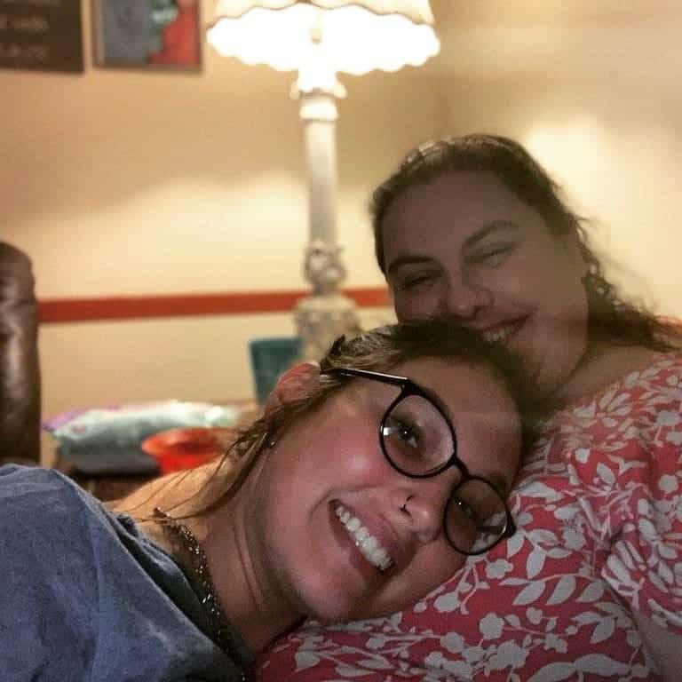 Katie Holstein with her daughter Akyra Holstein