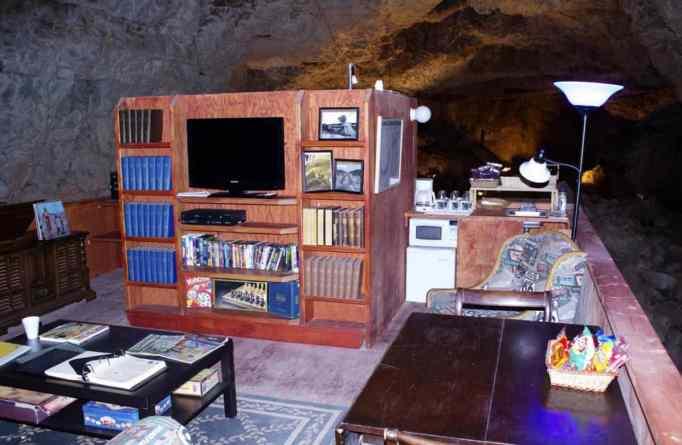 A room underground.