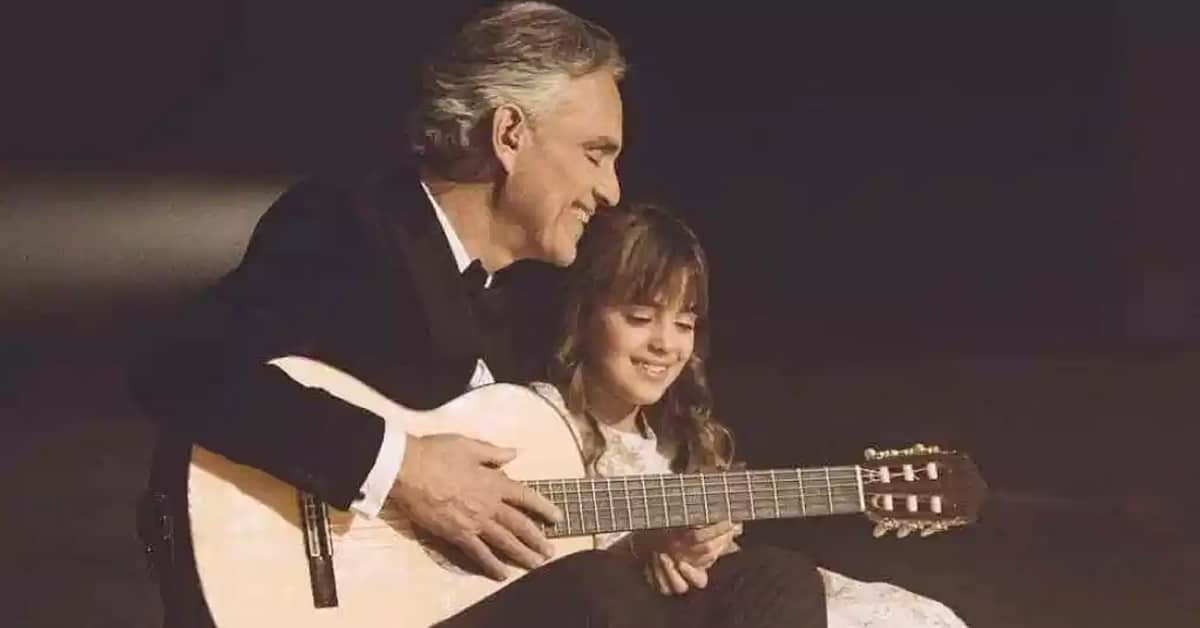 Andrea Bocelli and his daughter sing a beautiful duet of the classic song 'Hallelujah' - my positive outlooks