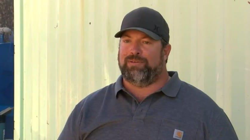 John Paul Cates, owner of TSW Fabrication