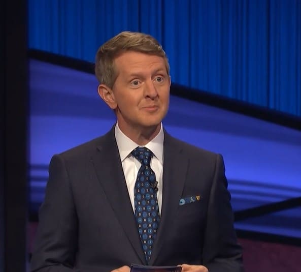 Ken Jennings hosting Jeopardy!