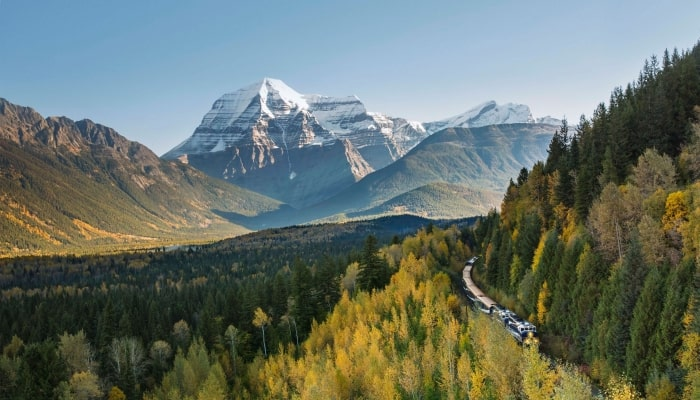 Rocky Mountaineer tour