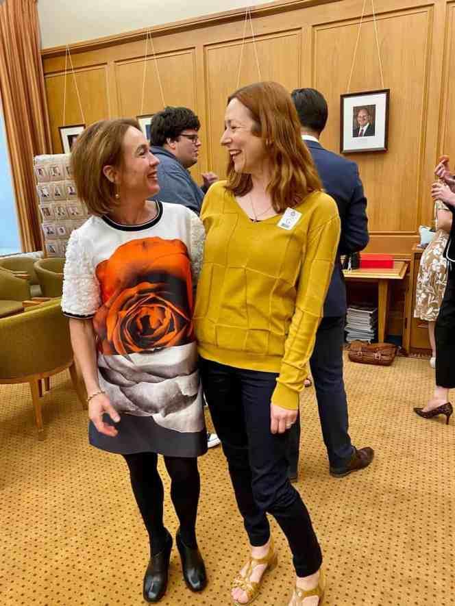 Ginny Andersen with Kathryn Van Beek