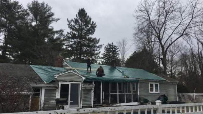 Jane Cunningham's home under repair