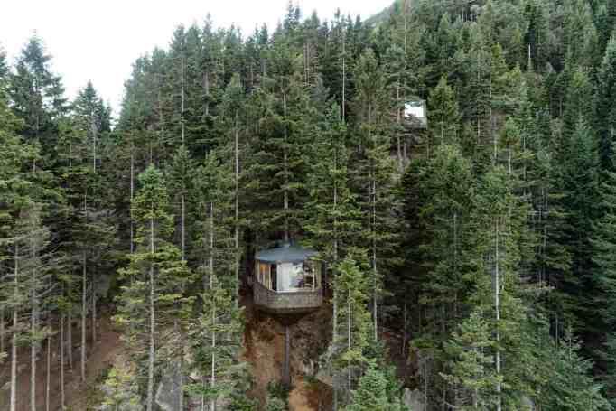Woodnest Cabins in Odda, Norway