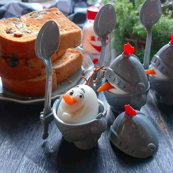 Olaf in a character bento by Etoni Mama