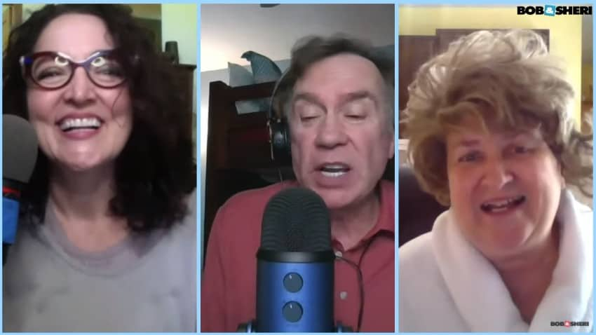 Garnetta Rickett on The Bob & Sheri Show