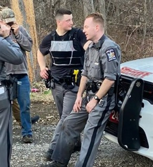 Trooper Brian Hotchkiss and Trooper Jason Stirk