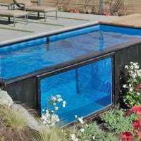 These shipping container pools can take your summer fun to the next level