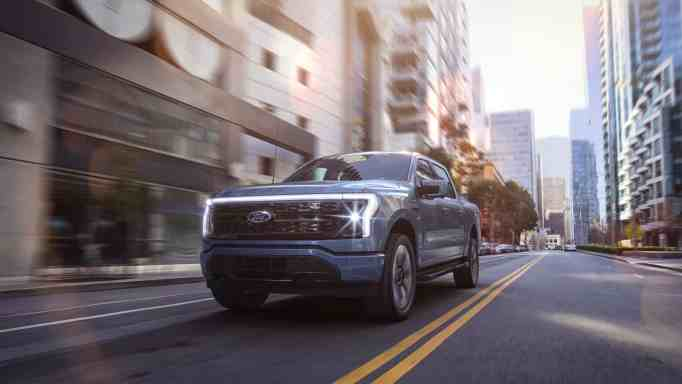 Ford's electric pick up truck will hit the market by Spring 2022