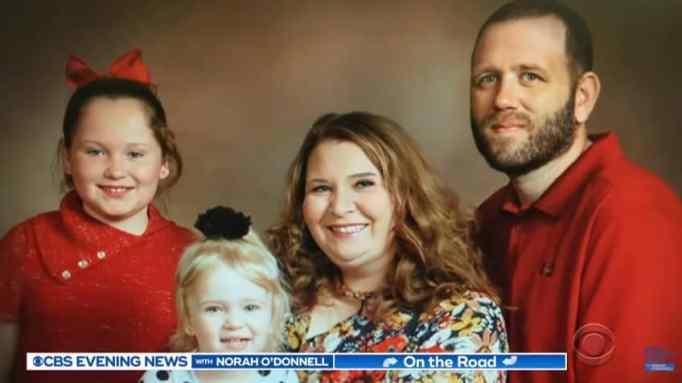 Рэйлинн Наст и ее семья
