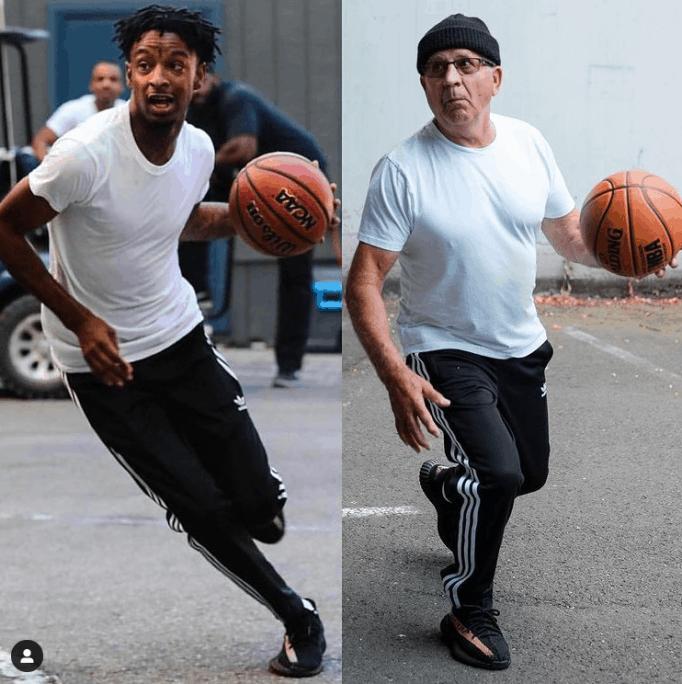 Gramps выглядит как модель спортивного бренда.