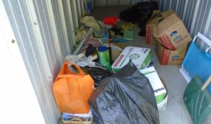 The contents of a storage unit