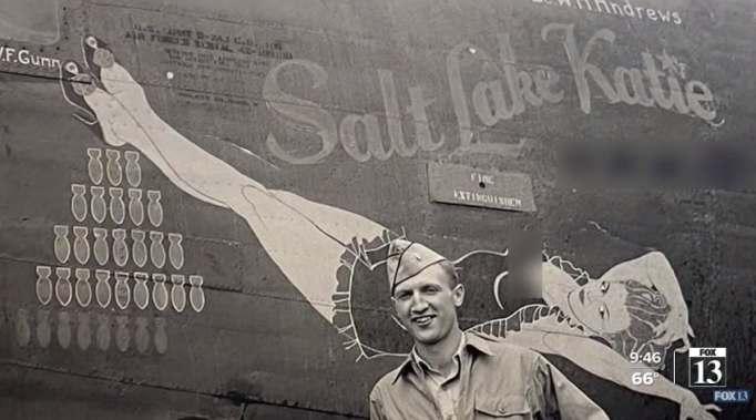 Salt Lake Katie plane