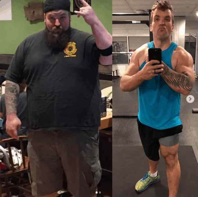 His incredible transformation serves as an inspiration to the people