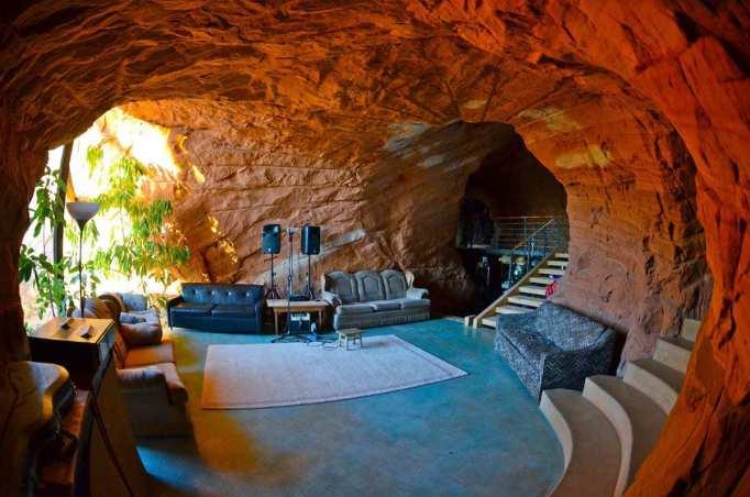 Inside the BedrocK Homestead