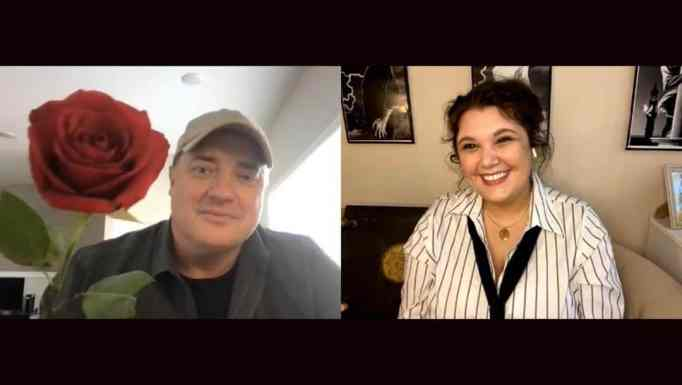 Brendan Fraser's virtual meet-and-greet with Lindley
