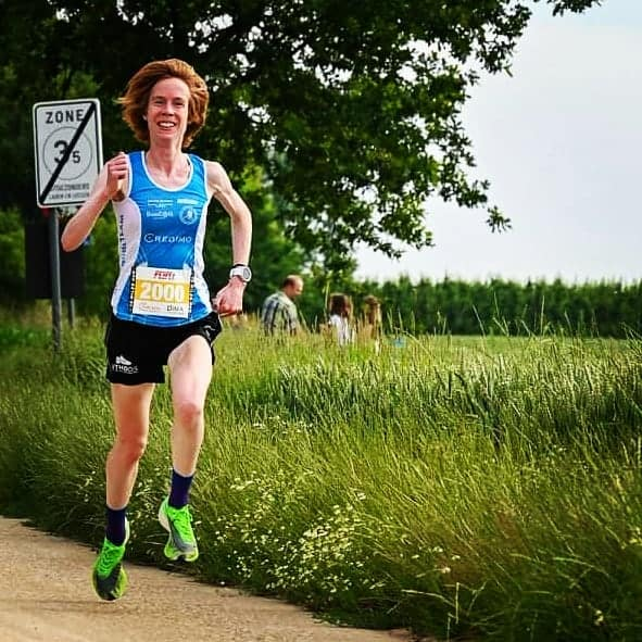 Mieke Gorissen running