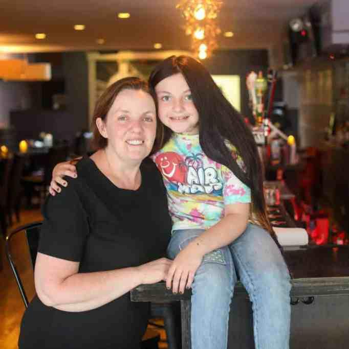 O'Halloran with daughter Erinn
