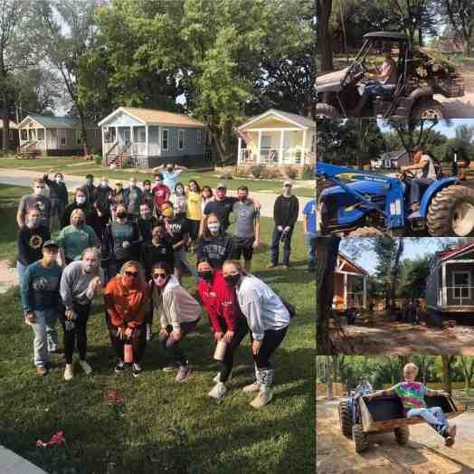 People who helped work on Eden Village