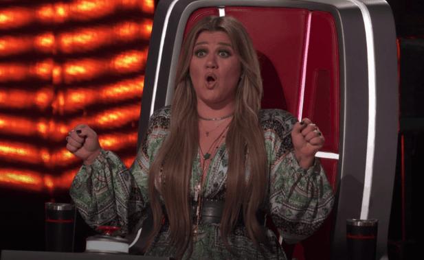 Kelly Clarkson on The Voice