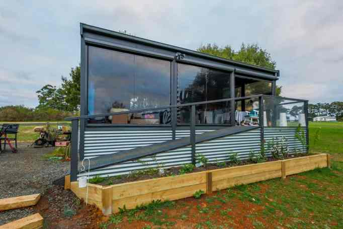 Elderly-, disability-, and mobility-friendly tiny home