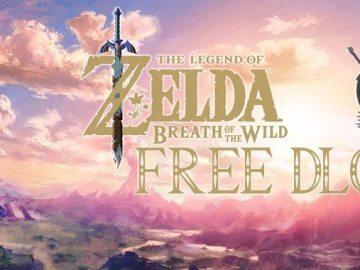 Zelda Breath of the wild FREE DLC Expansion pass