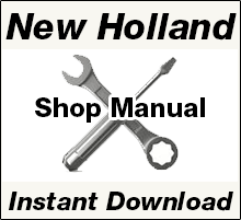New Holland Repair Manual Download