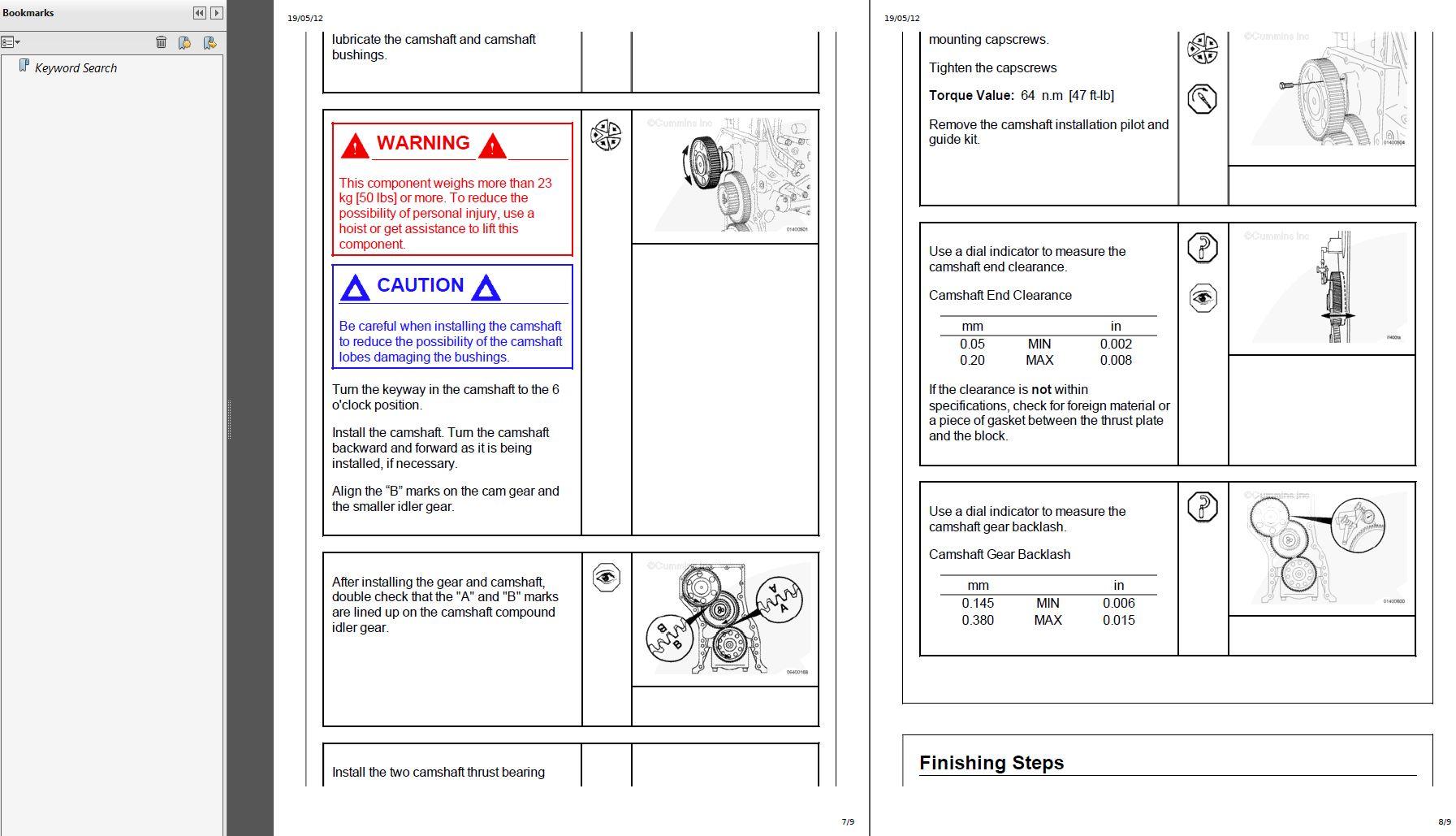 Cummins isx shop manual pdf